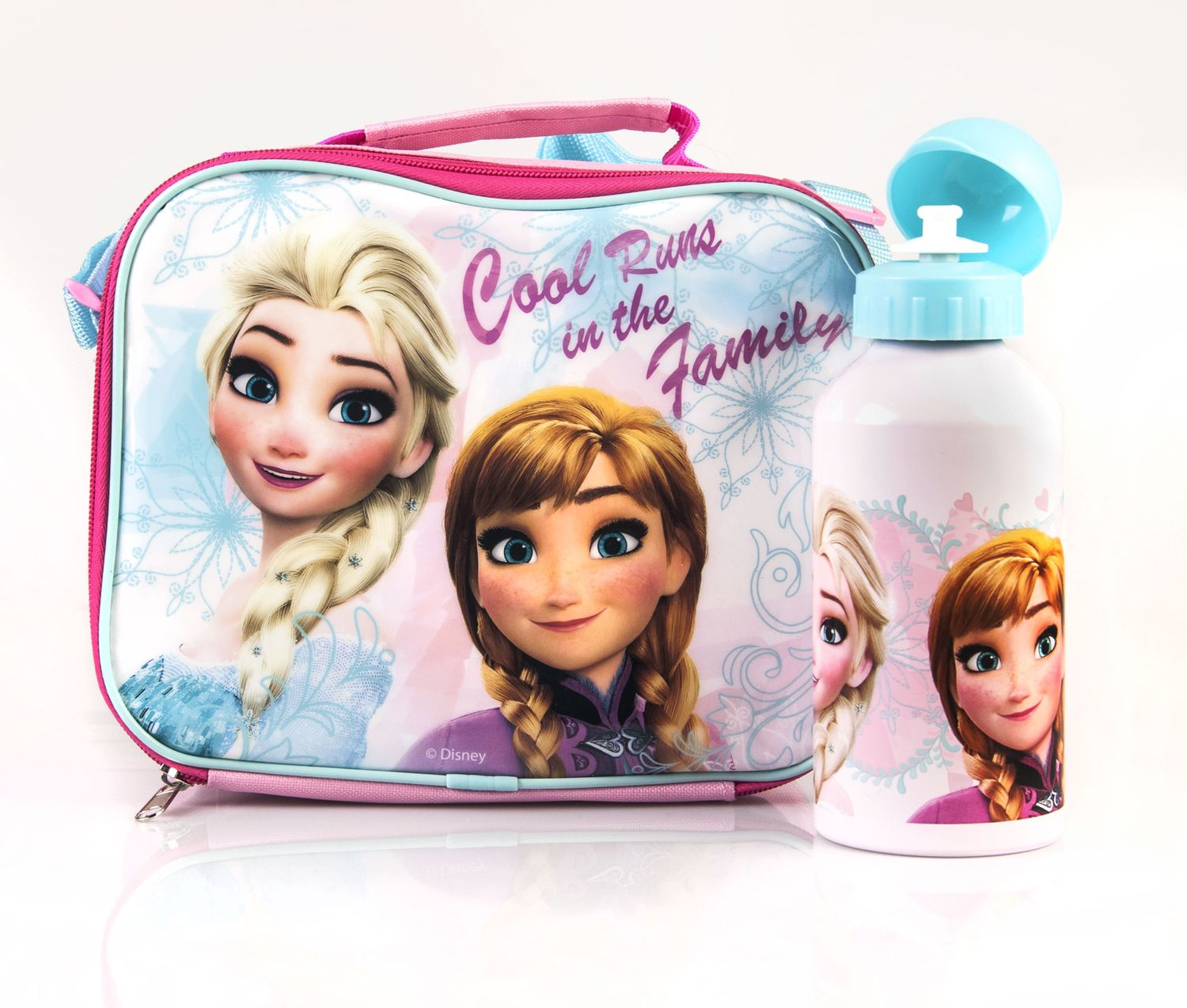 Disney Frozen Lunch Bag & Aluminium Bottle Set
