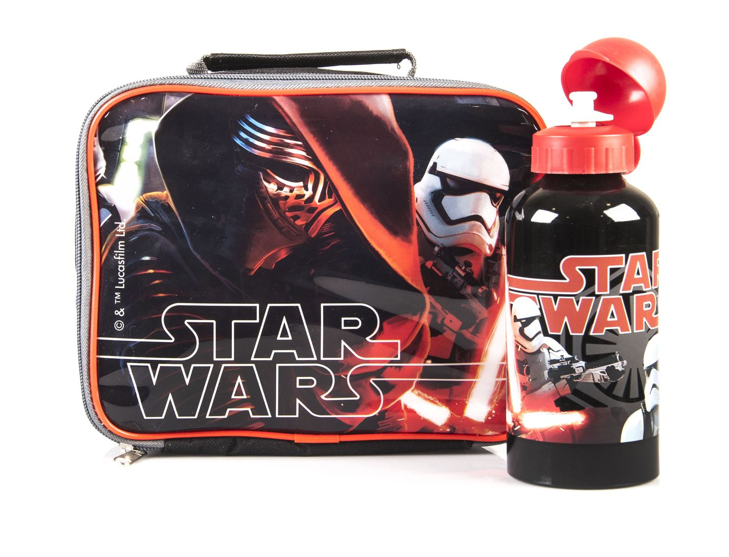 Star Wars Lunch Bag & Aluminium Bottle Set