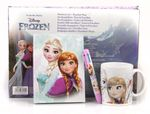 Disney FROZEN 3 Piece Set Diary + Multi Colour Pen + Mug 001