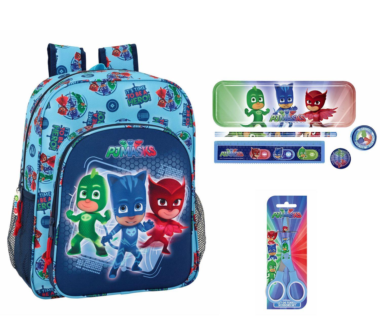 Pj Masks Backpack with Stationery Set