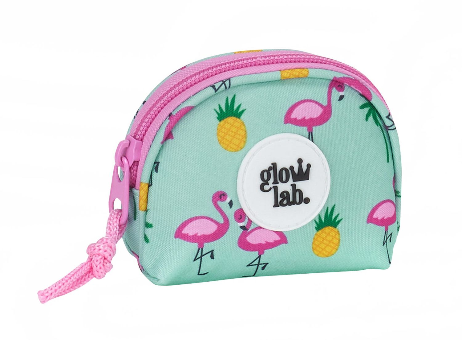 "Glowlab Pink Flamingo ""Tropic"" Purse XS – image 1"