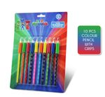 PJ Masks Colouring Pencils With Grip Stationery Set 10 Piece 001