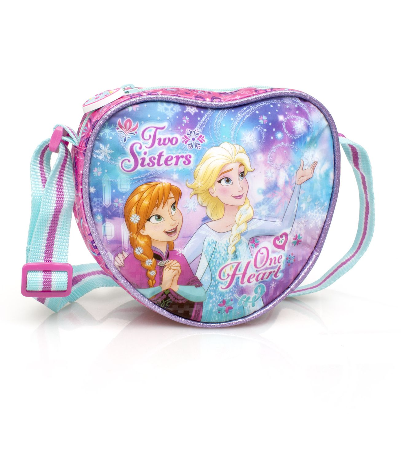 Disney Frozen Heart Shaped Premium Shoulder Bag ONE HEART – image 1