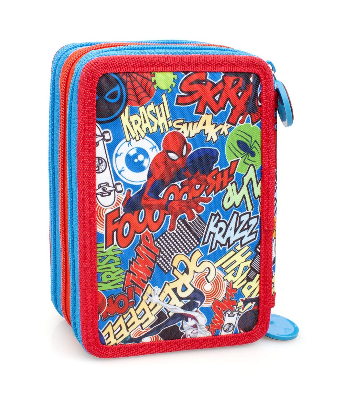 Spider Man TWAMM Premium 3 Tier Pencil Case with Contents – image 2