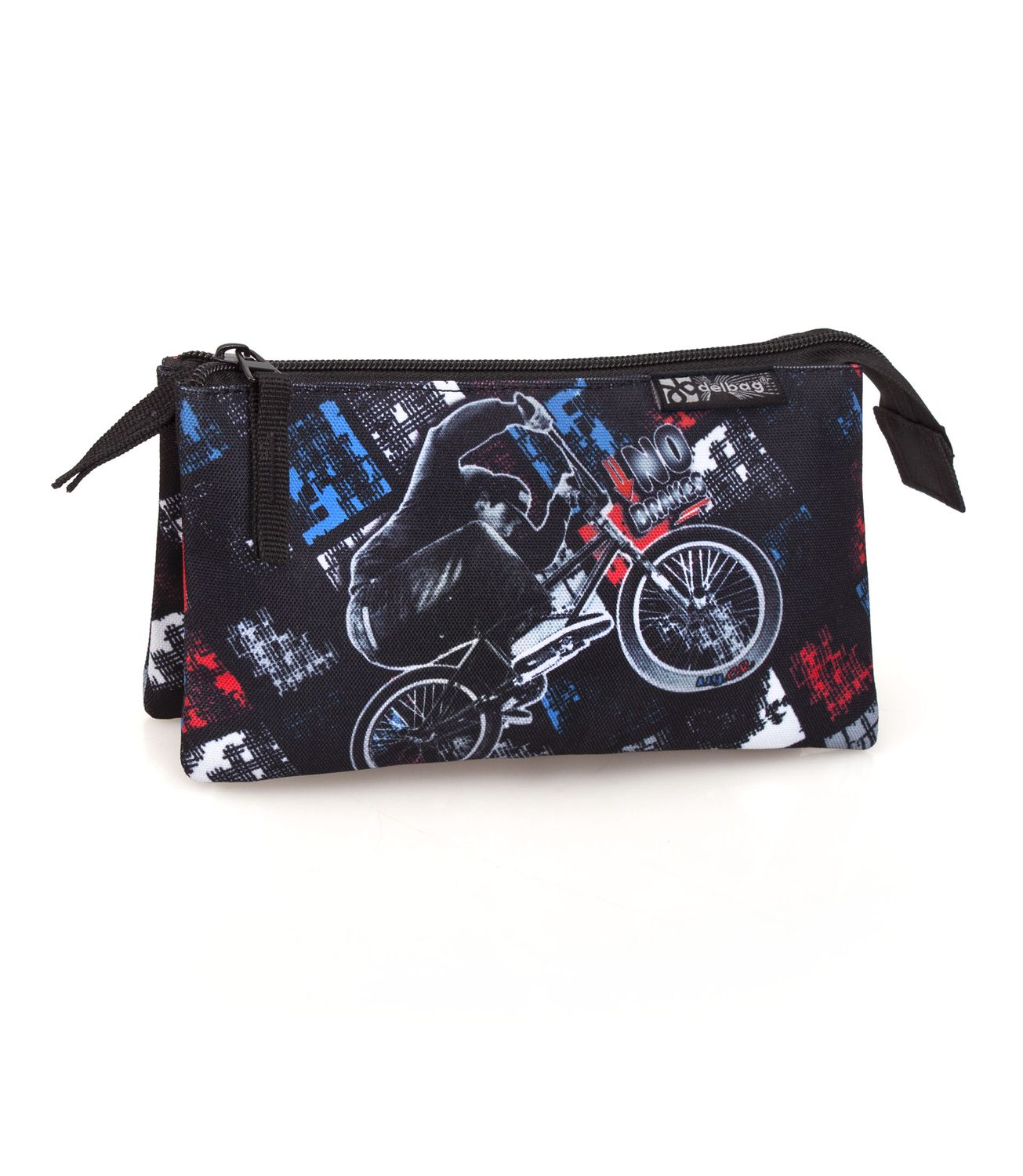 Delbag BIKE CITY RIDER Triple Pencil Case – image 1