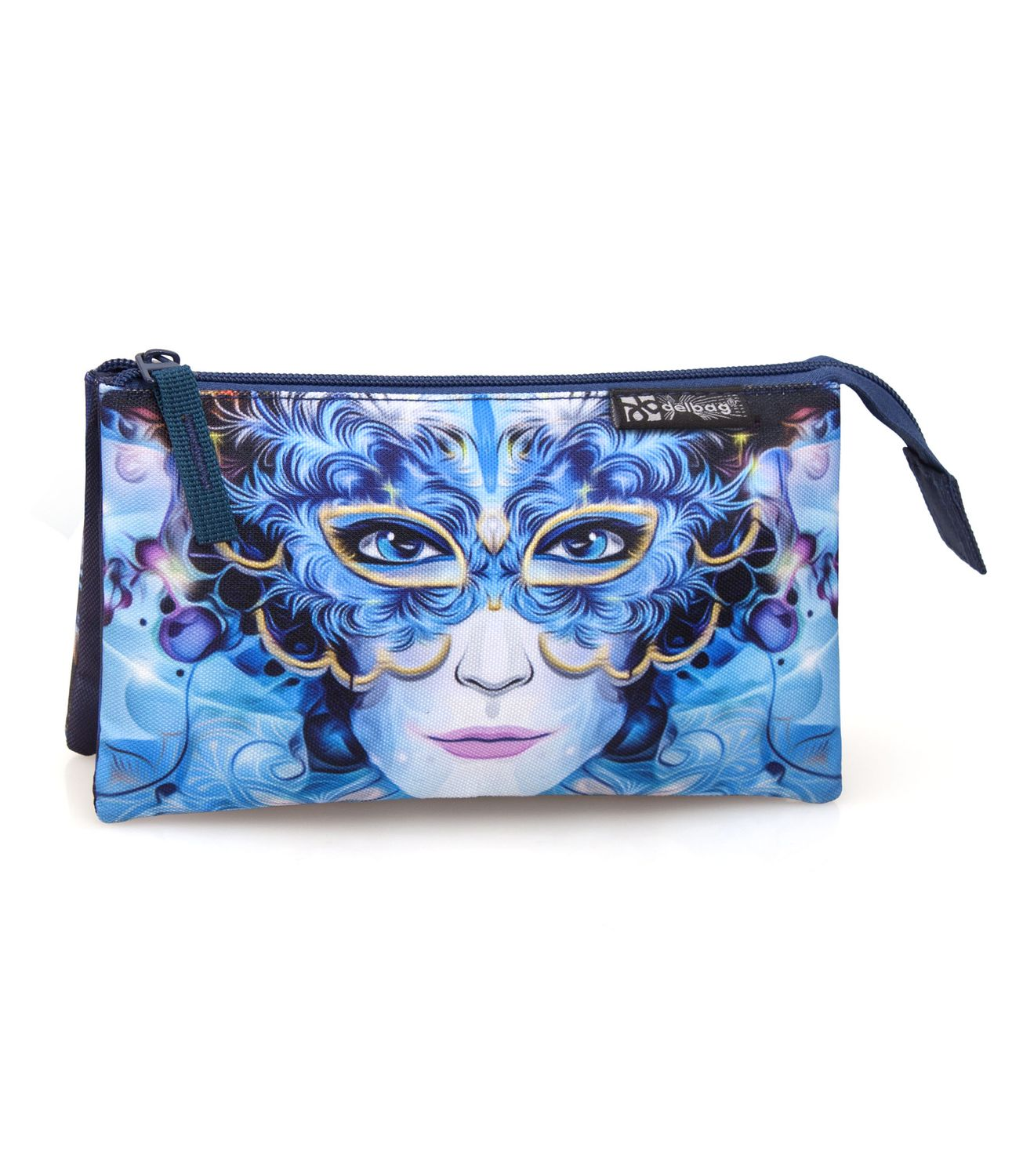 Delbag FANTASTIC MASK Triple Pencil Case – image 1
