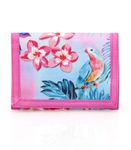 Eastwick FLORAL FLAMINGO Pink Wallet 001