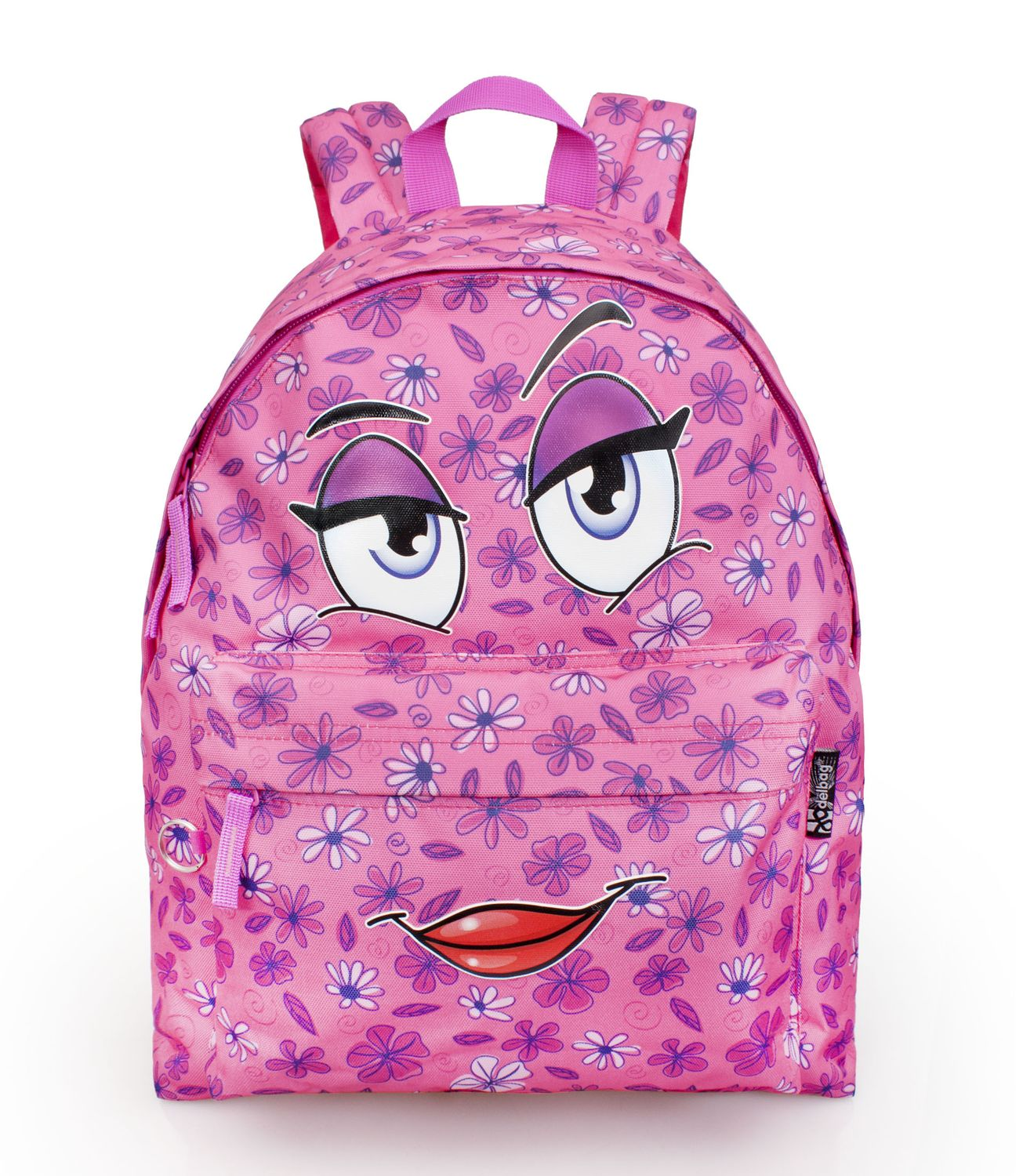 Delbag COME HERE Pink Backpack