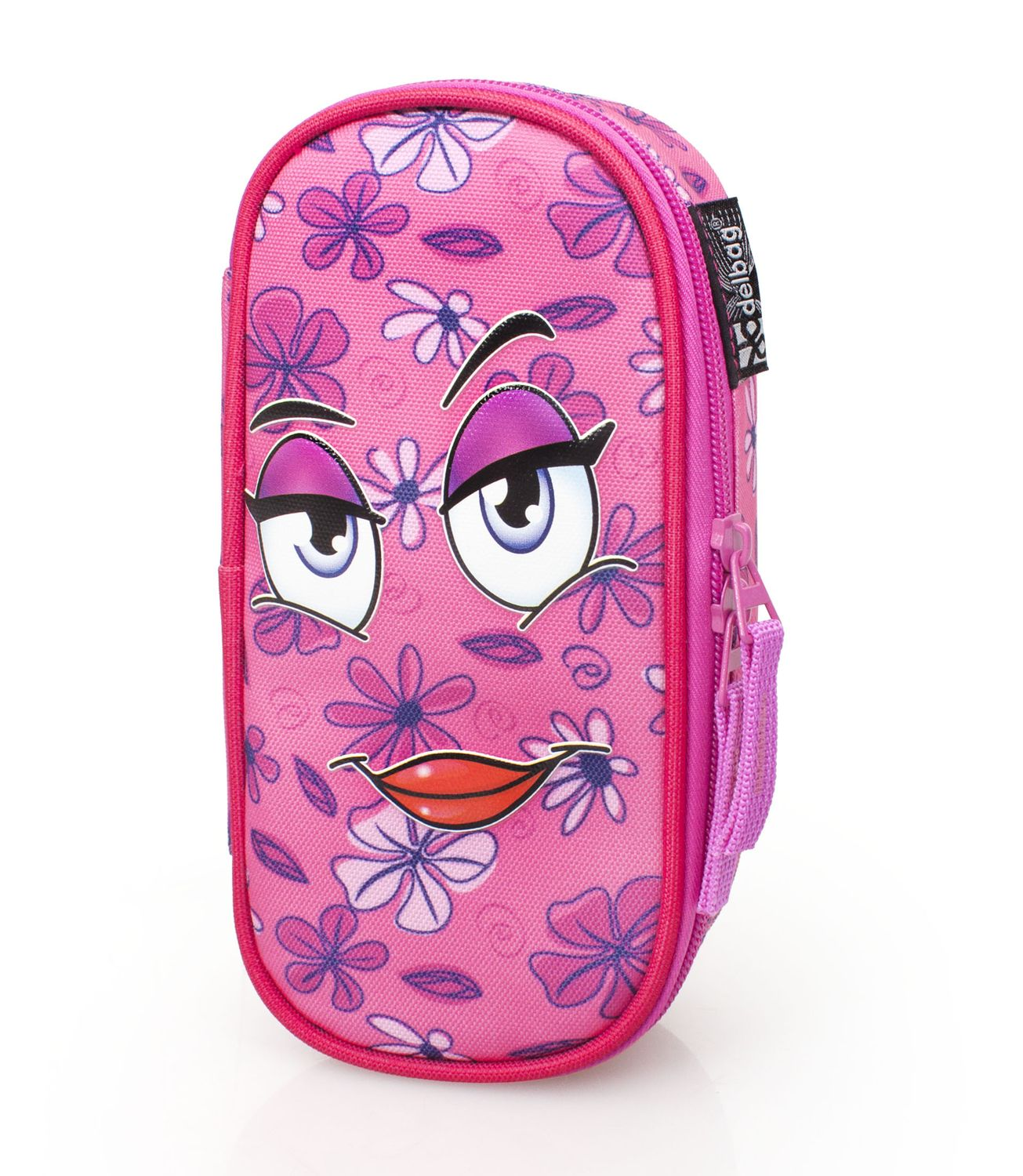 Delbag COME HERE Pink Oval Pencil Case