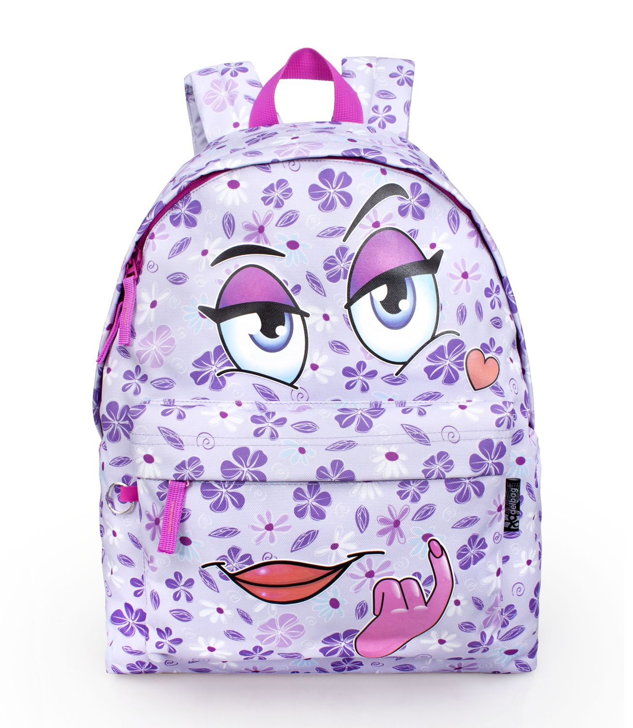 Delbag COME HERE LILAC Violet Backpack