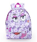 Delbag COME HERE LILAC Violet Backpack 001