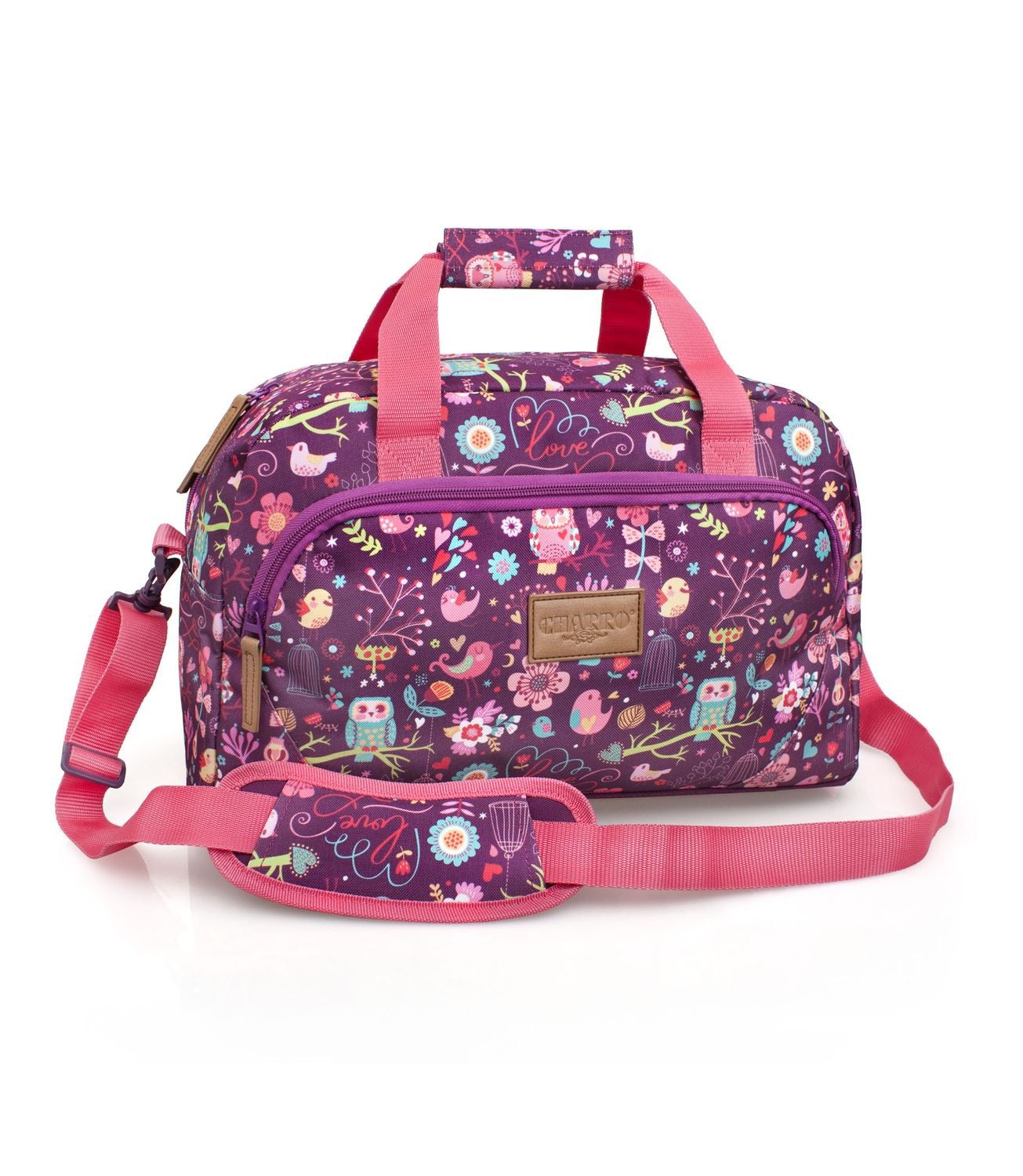 EL CHARRO Pink Travel Bag BIRD – image 1