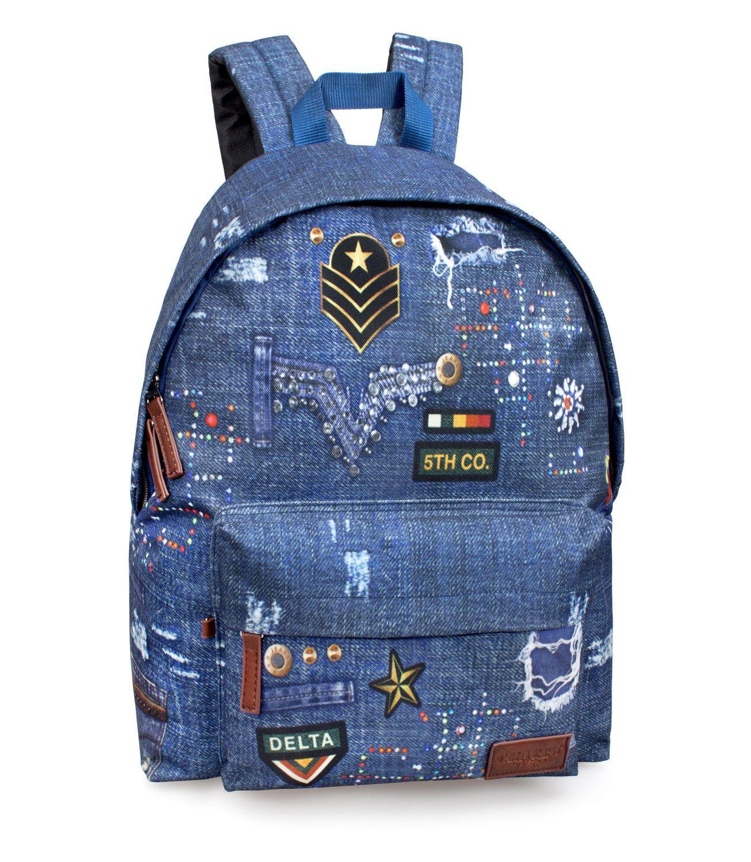EL CHARRO Backpack DENIM – image 1