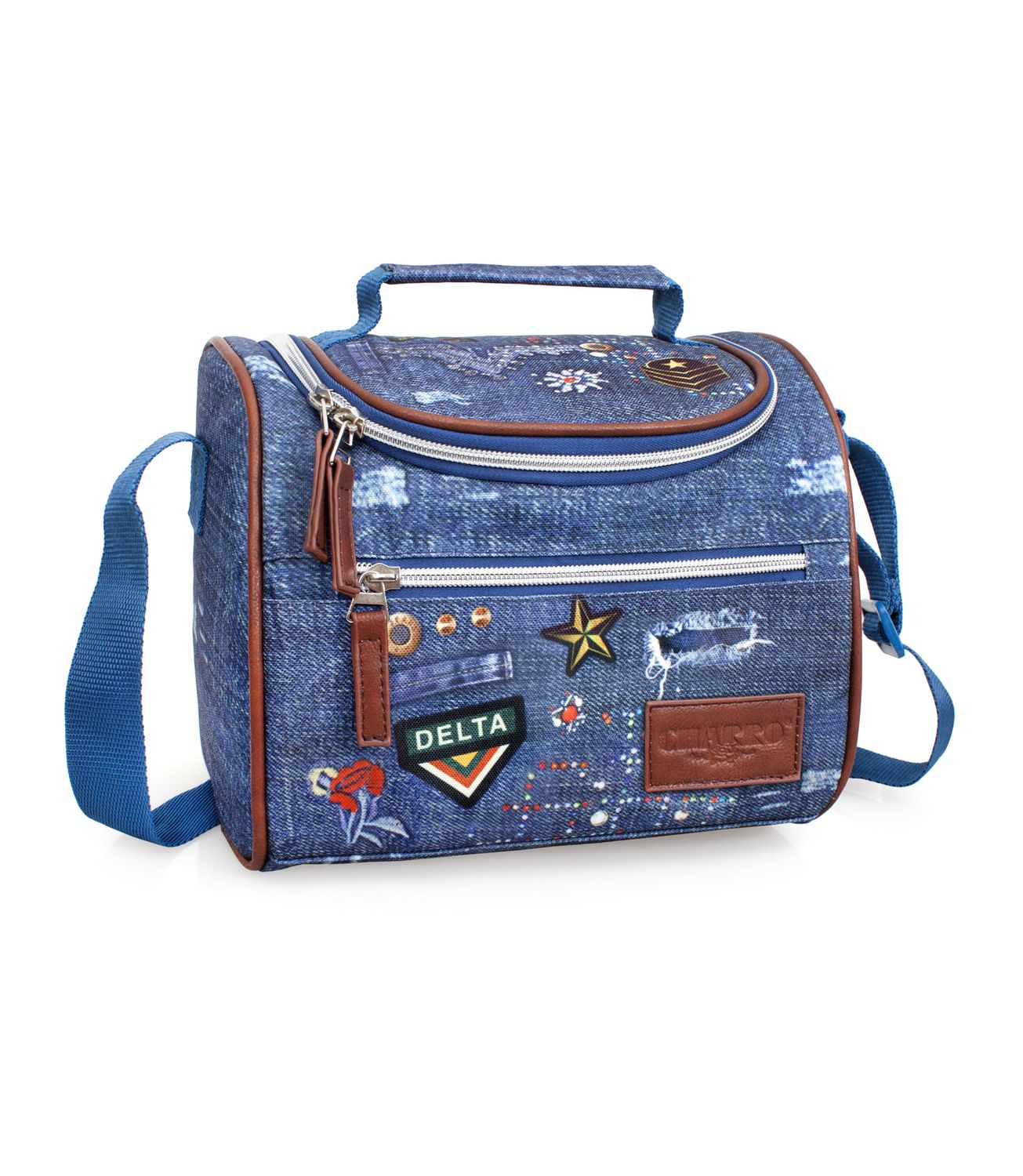 EL CHARRO Cooler Lunch Bag DENIM – image 1
