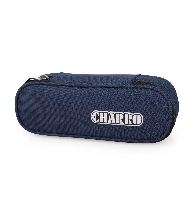 EL CHARRO BASIC Oval Pencil Case Navy