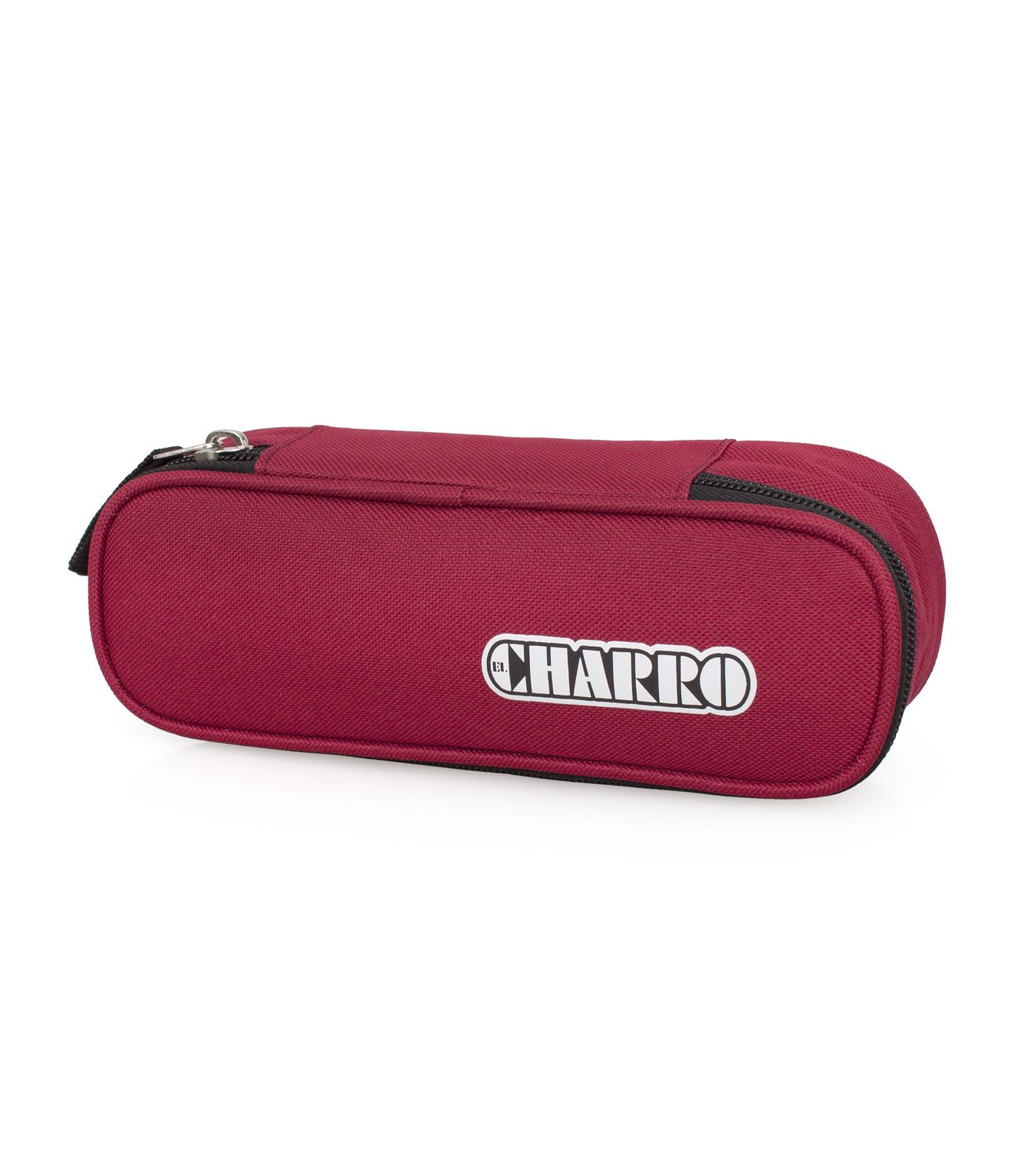 EL CHARRO BASIC Oval Pencil Case BORDEAUX