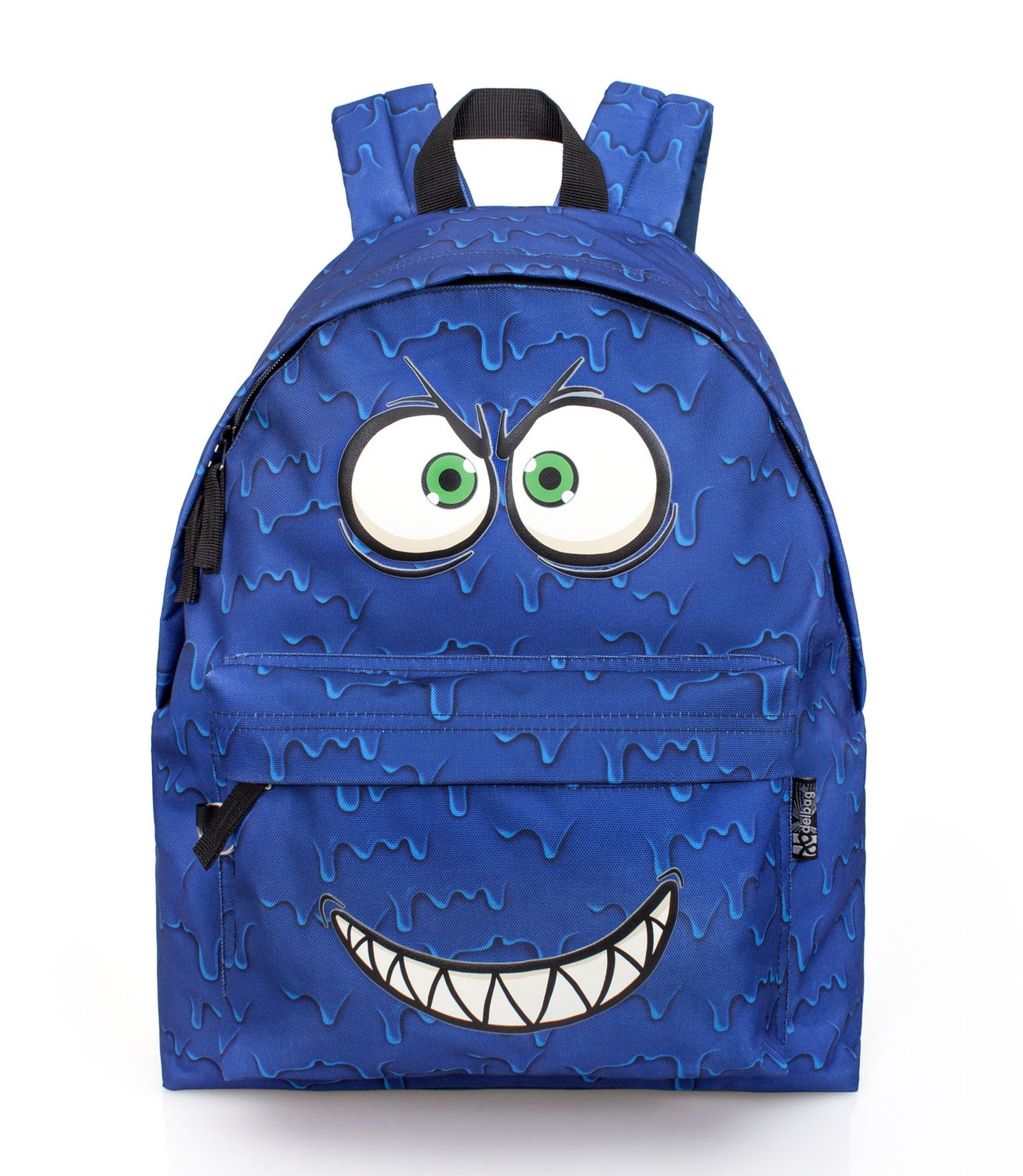 Delbag Crazy Smile Backpack Blue