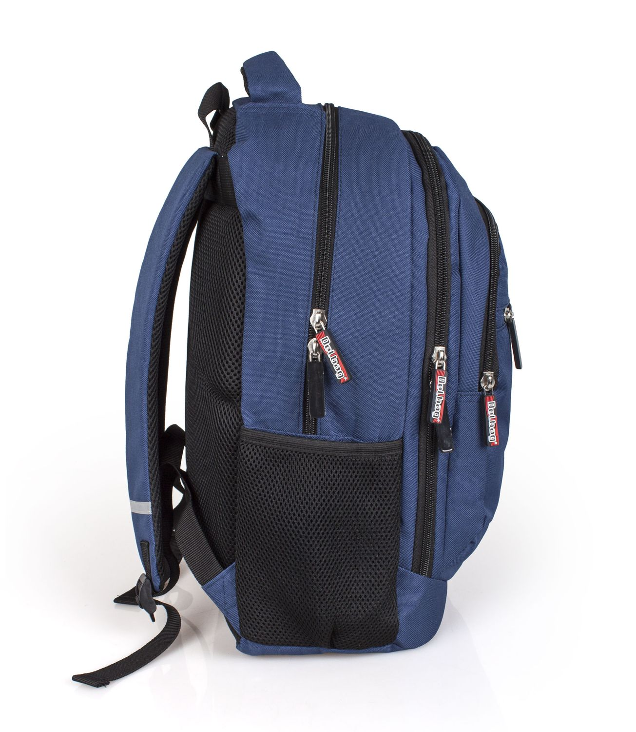 Delbag Triple Compartment Laptop Backpack Multicolour – image 3