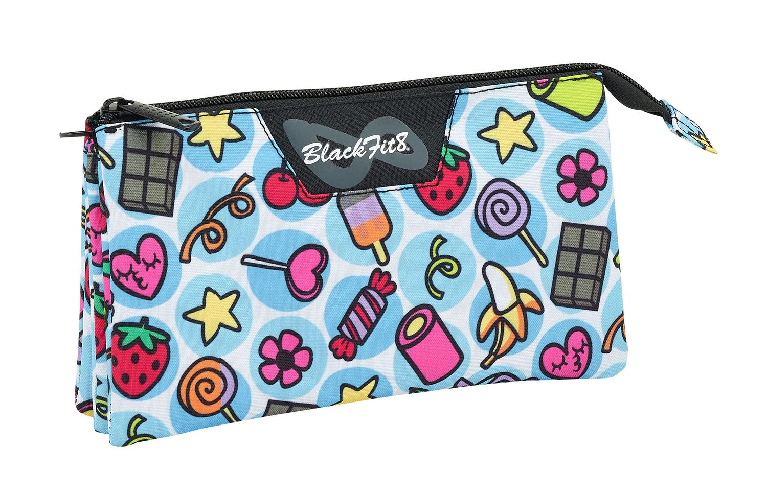 Blackfit Sweet Triple pencil case