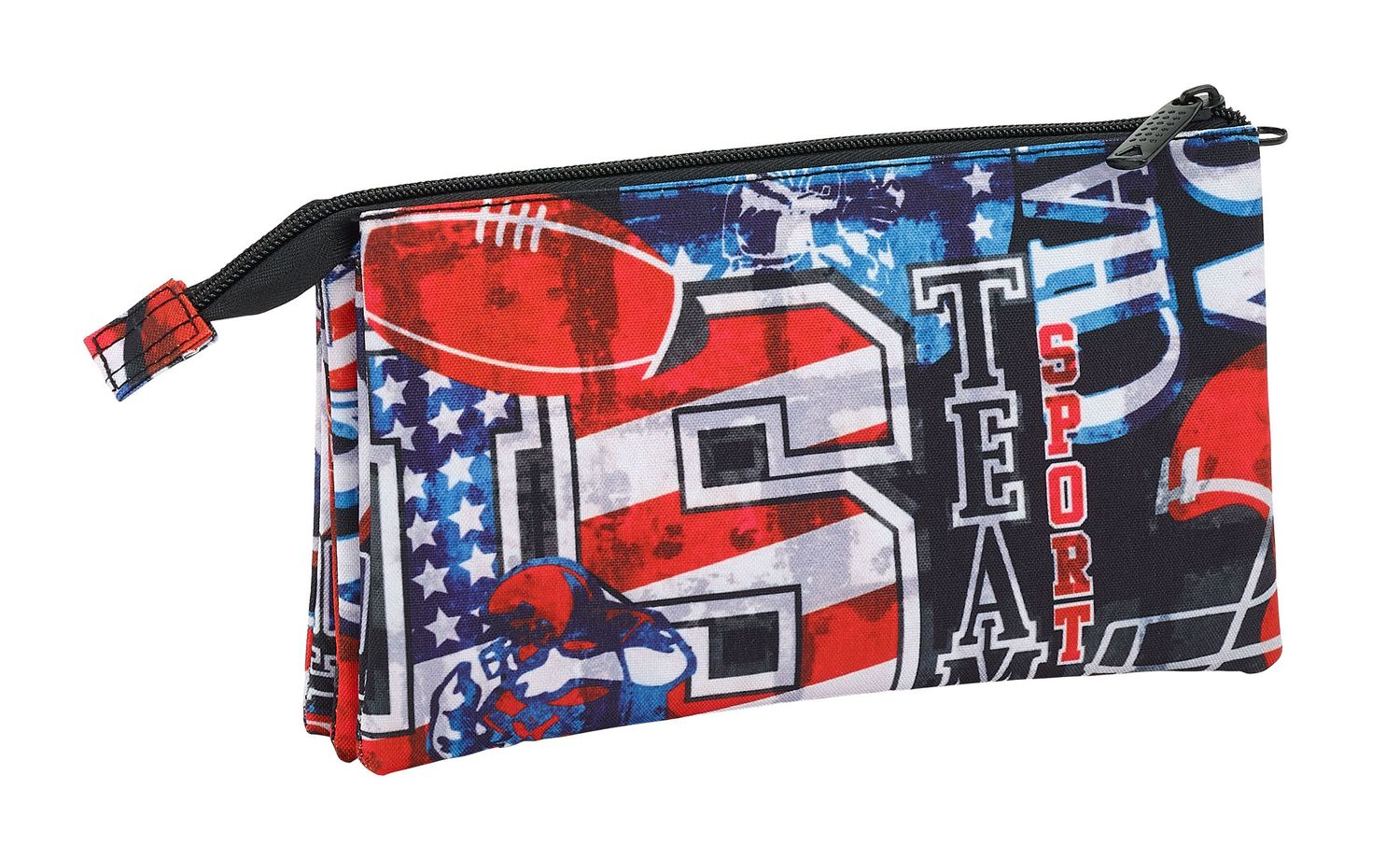 Blackfit Super Bowl Triple pencil case  – image 3