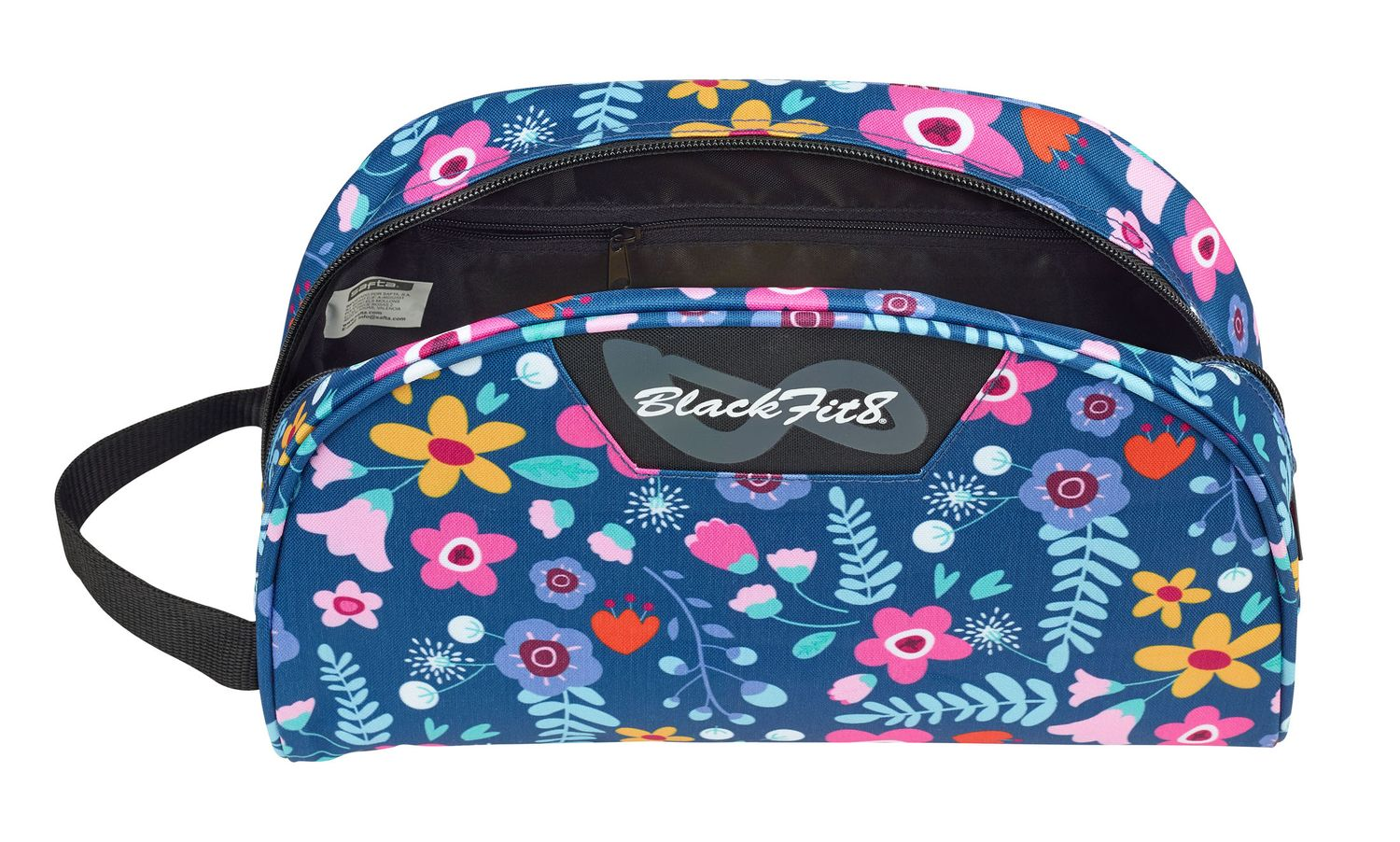 Blackfit Flowers Wash Travel Bag – image 2