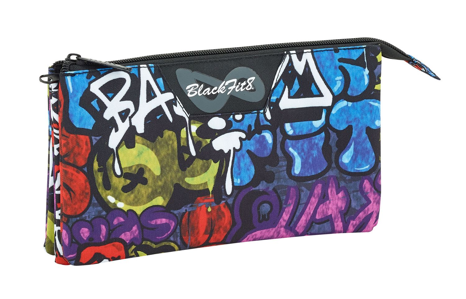 Blackfit Bad Boy Triple pencil case  – image 1
