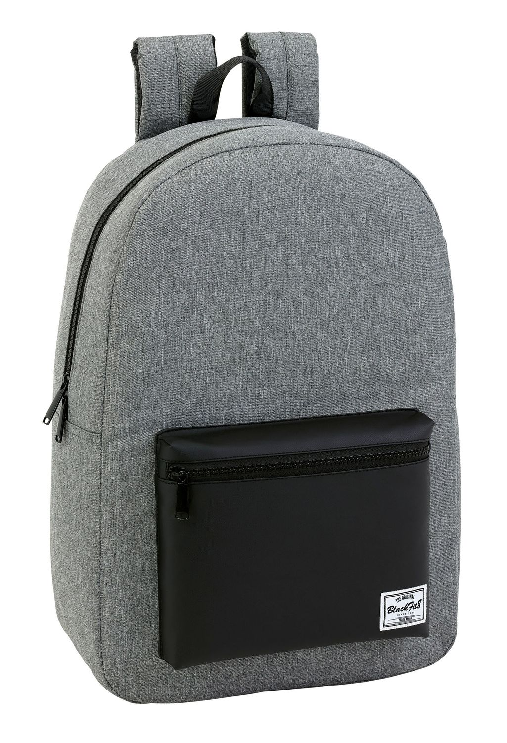 "Blackfit Black & Grey Laptop Backpack 15.6"" – image 1"