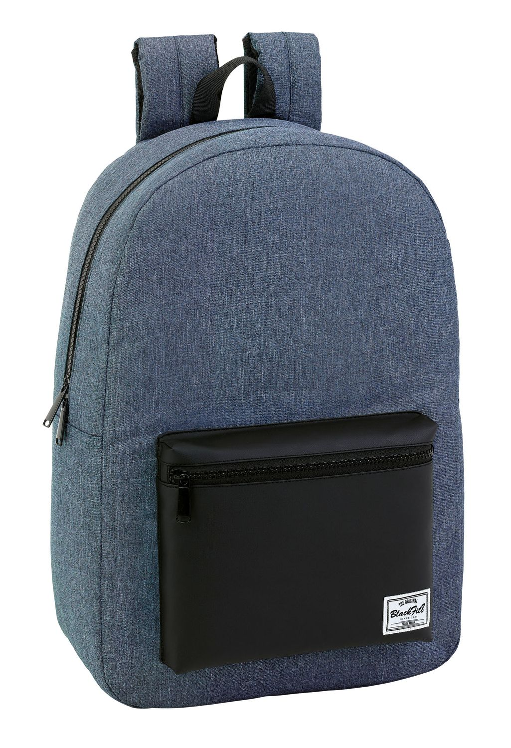 "Blackfit Black & Blue Laptop Backpack 15.6"" – image 1"