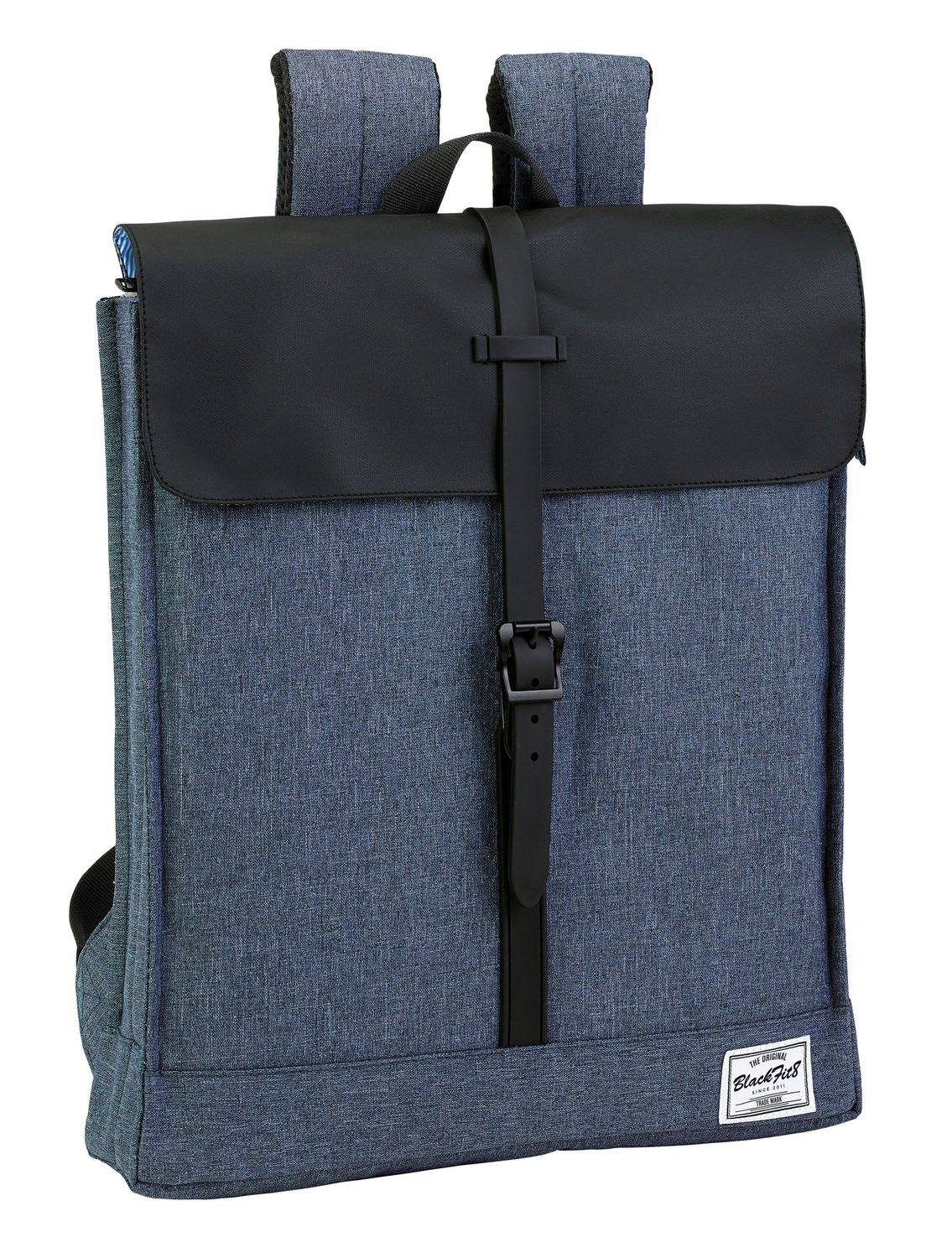 "Blackfit Black & Blue Laptop Backpack 14.1"" – image 1"