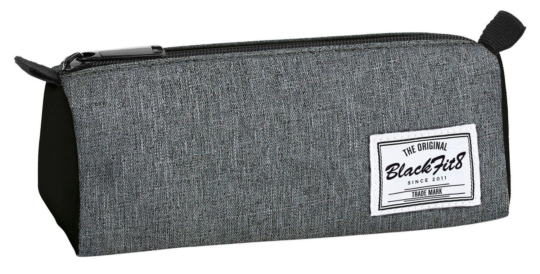 Blackfit Black & Grey Square pencil case