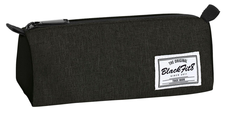 Blackfit Black & Black Square pencil case