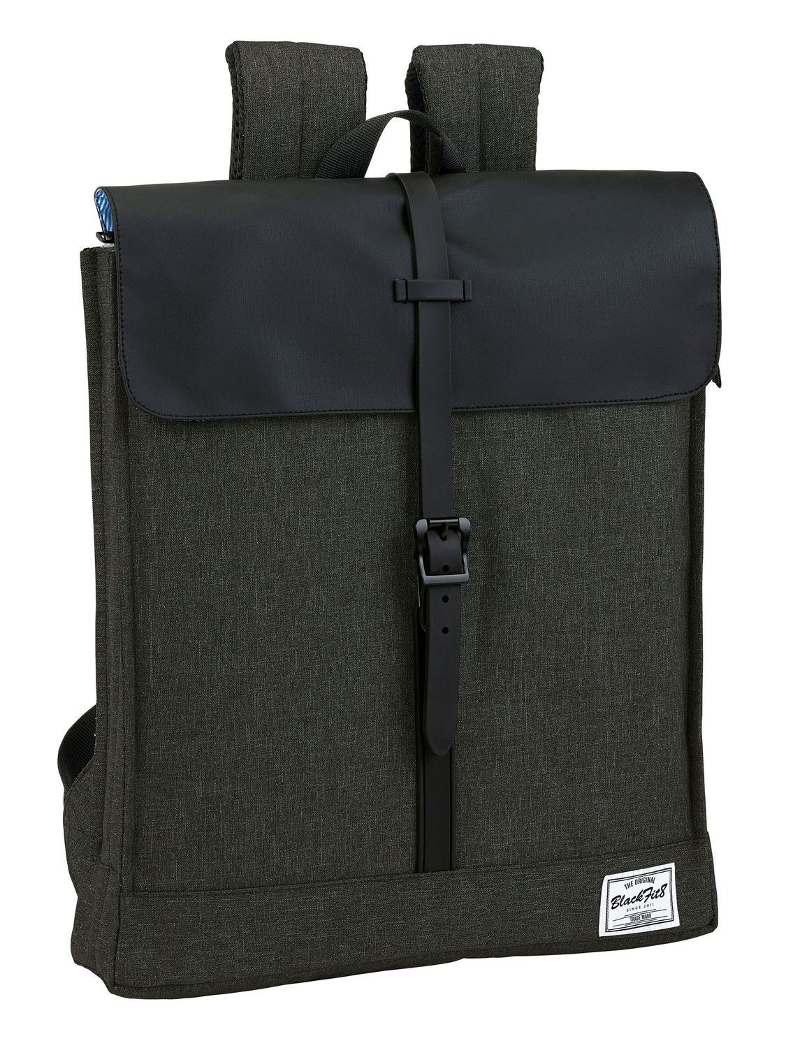 "Blackfit Black & Black Laptop Backpack 14.1"" – image 1"