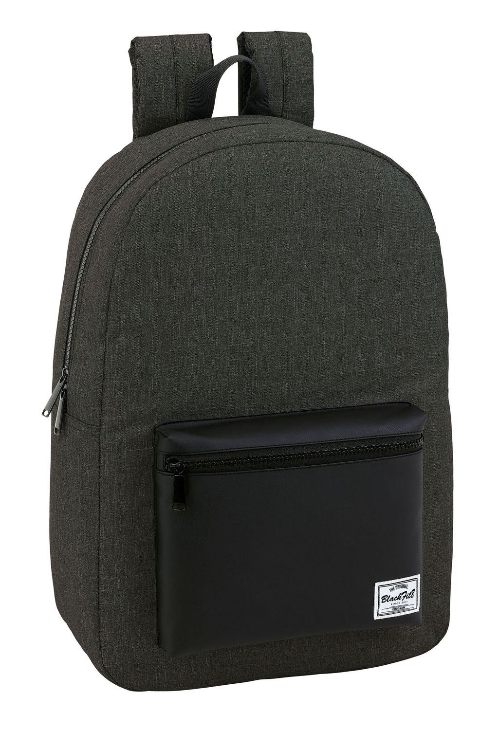 "Blackfit Black & Black Laptop Backpack 15.6"" – image 1"