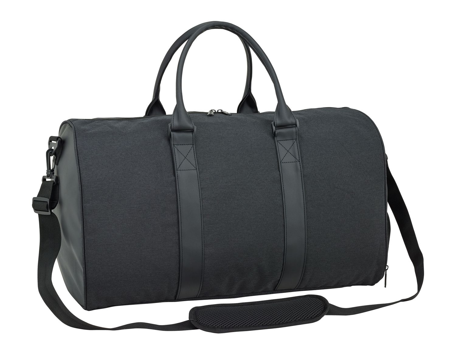 Blackfit8 Black & Black Sports Bag – image 2