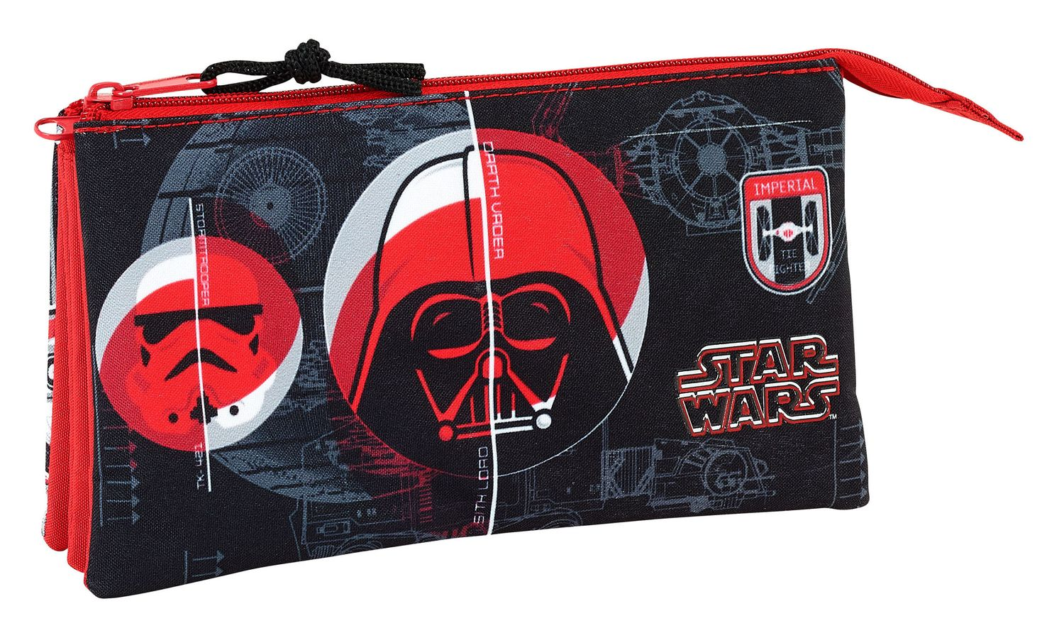 Star Wars Galactic Mission Triple Pencil Case  – image 1