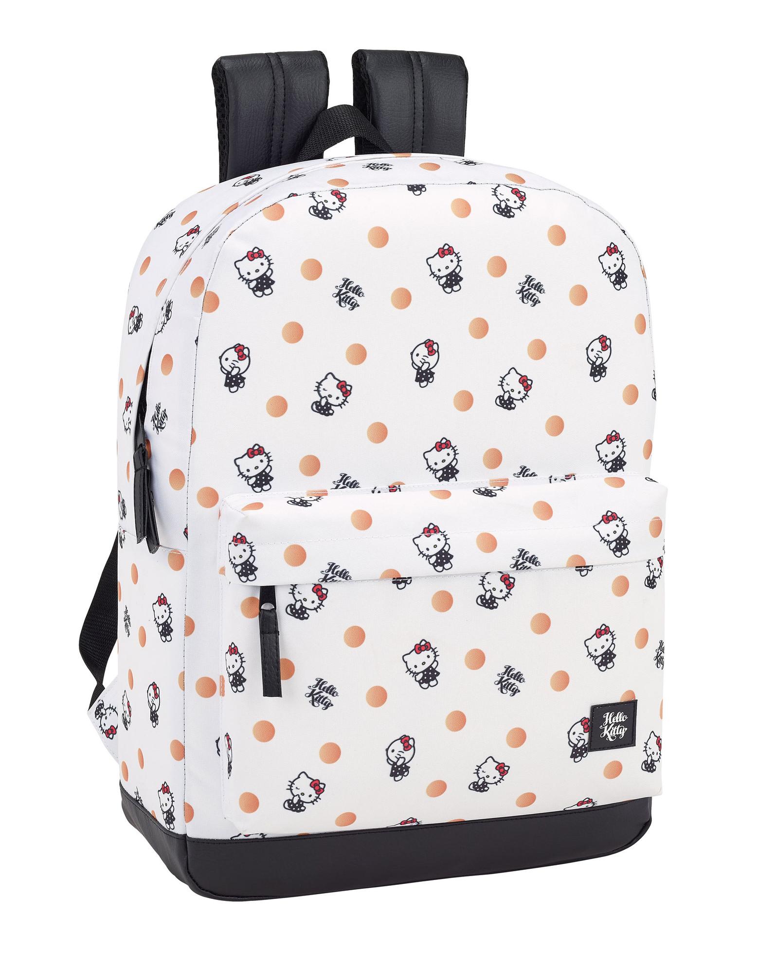 e8bc791e4 Hello Kitty Polka Dots Laptop Backpack 15.6'
