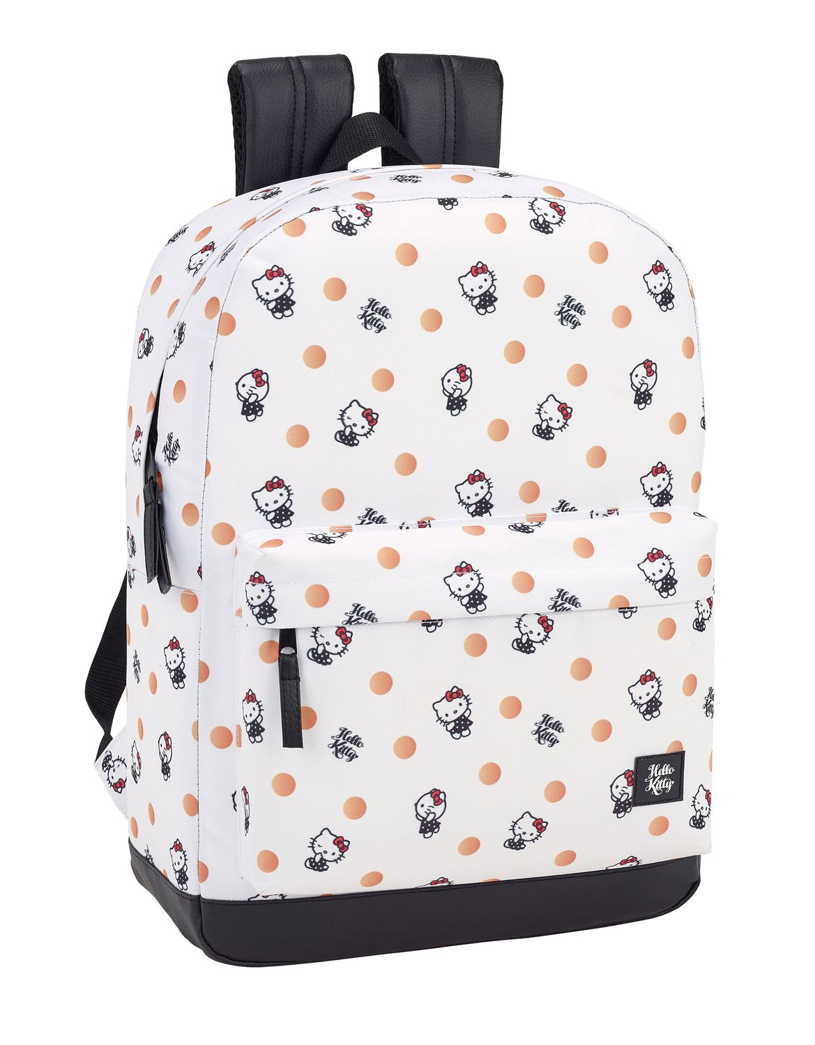 Hello Kitty Polka Dots Laptop Backpack 15.6' – image 1