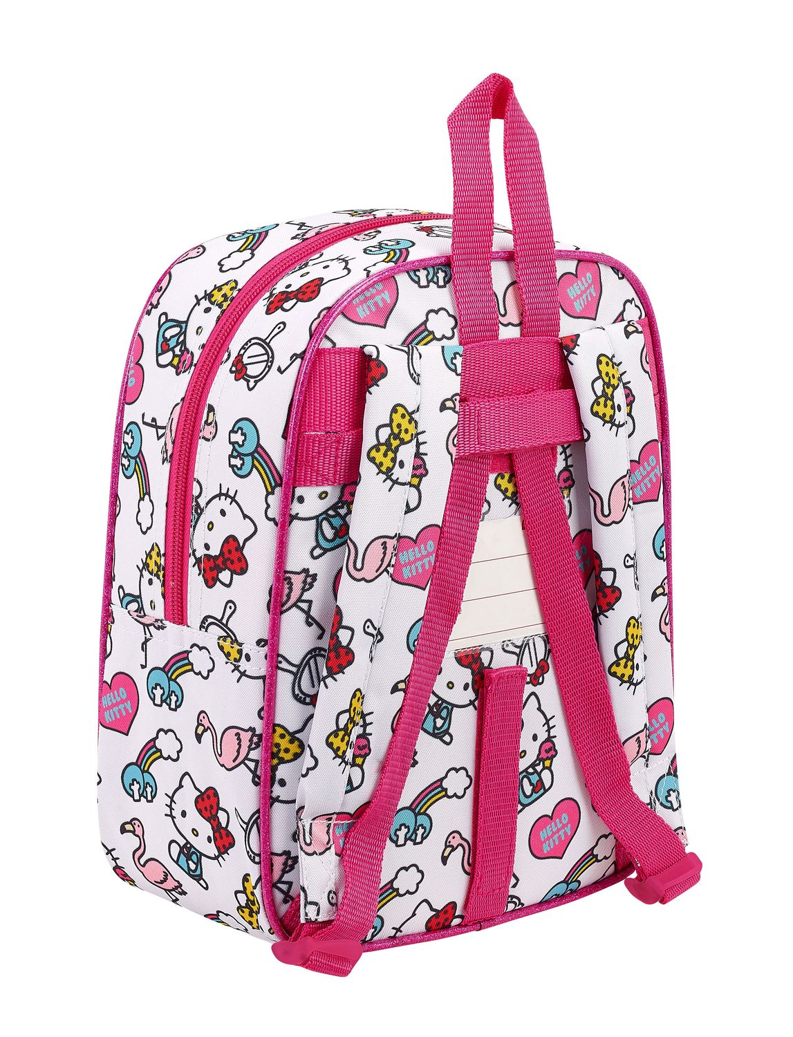 Hello Kitty Girl Gang Pink Junior Backpack – image 2
