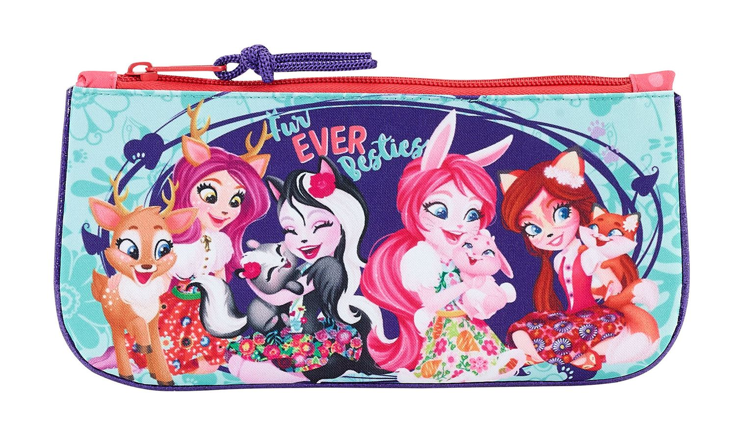 Flat Pencil Case Enchantimals Fur Ever – image 1