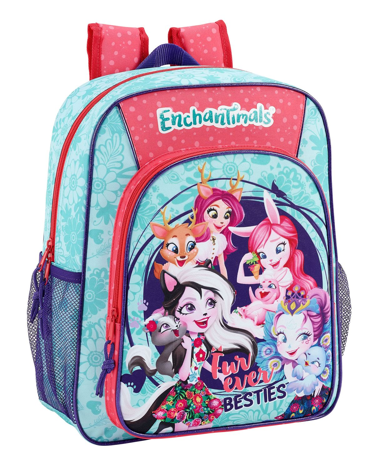 Junior Rucksack 38 cm Enchantimals Fur Ever