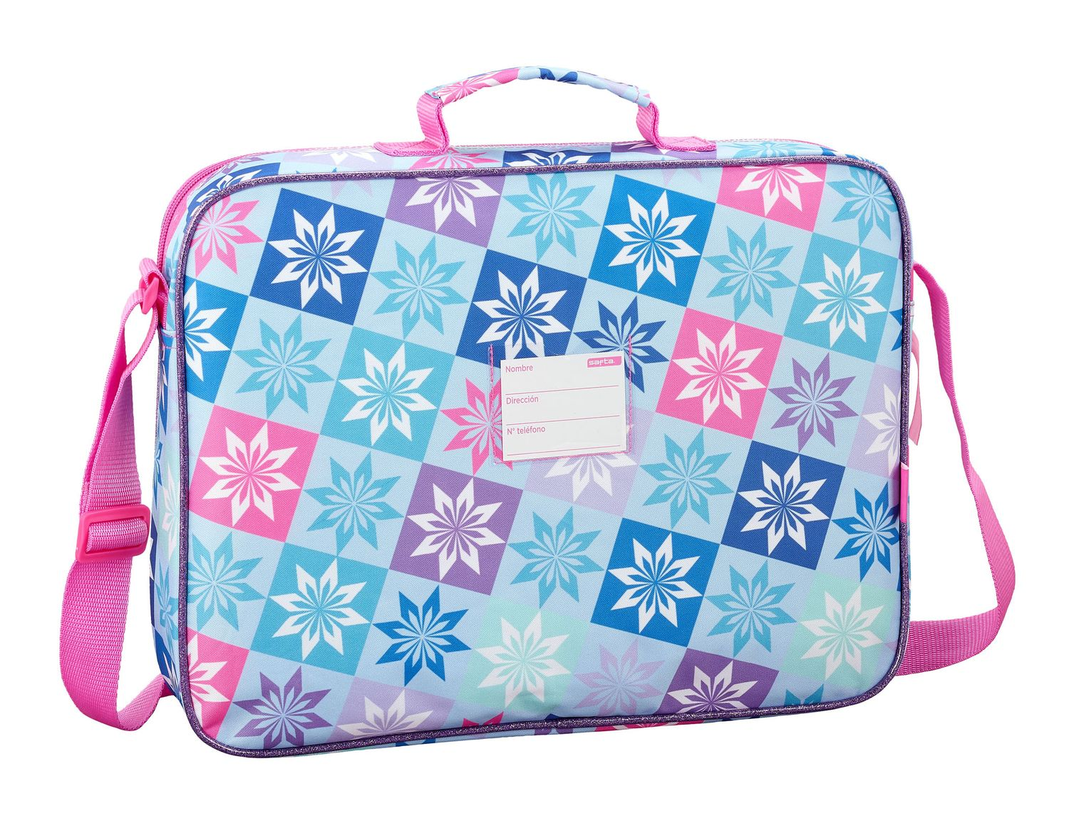 Disney Frozen Ice Magic Briefcase Shoulder Bag 38cm – image 2