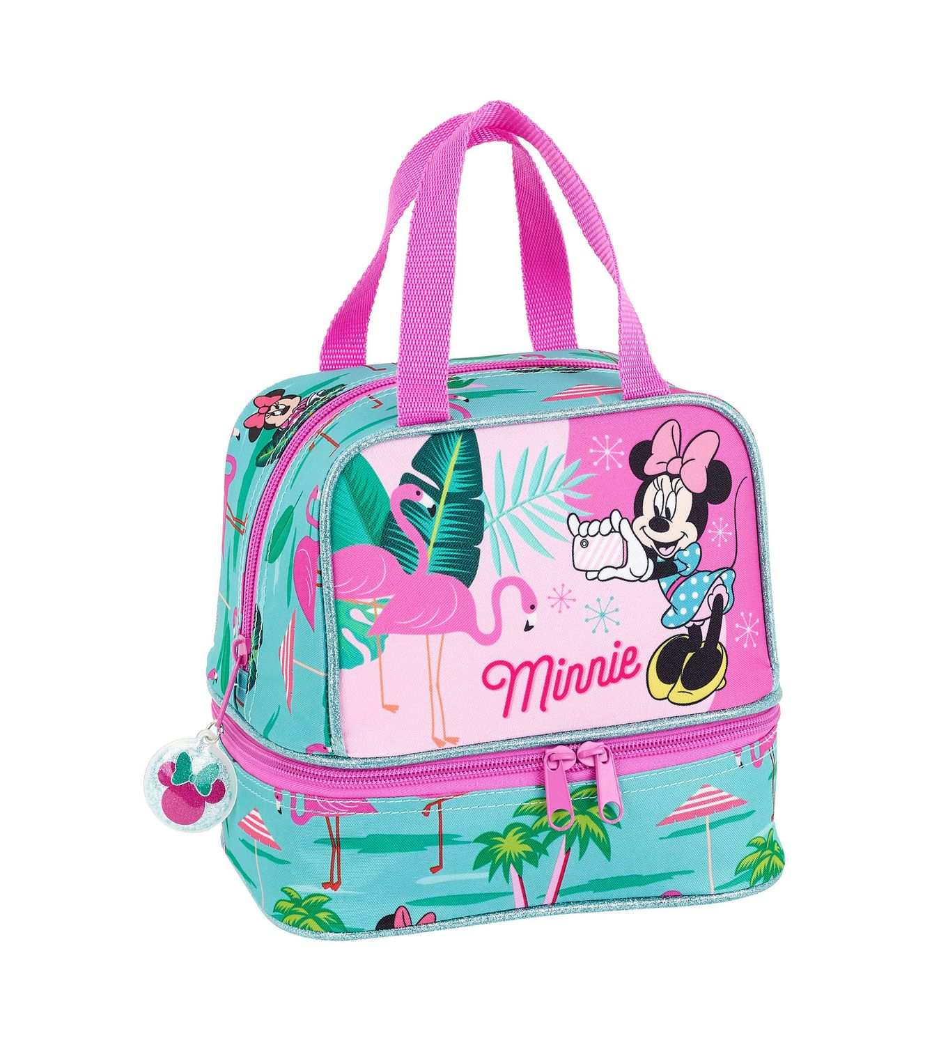 Lunch Bag Minnie Mouse Spring Palms – image 1