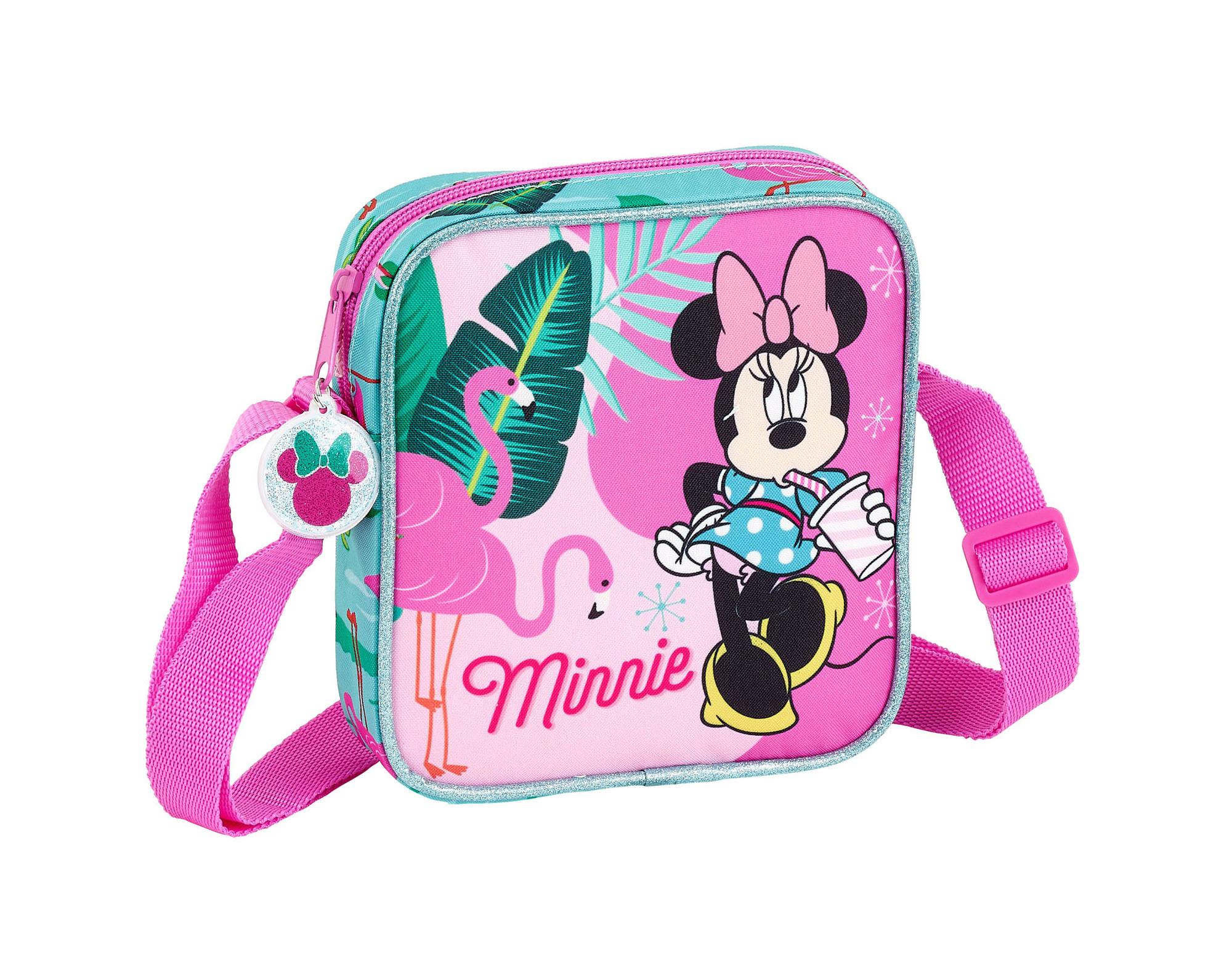 Mini Shoulder Bag 18 Cm Minnie Mouse Spring Palms