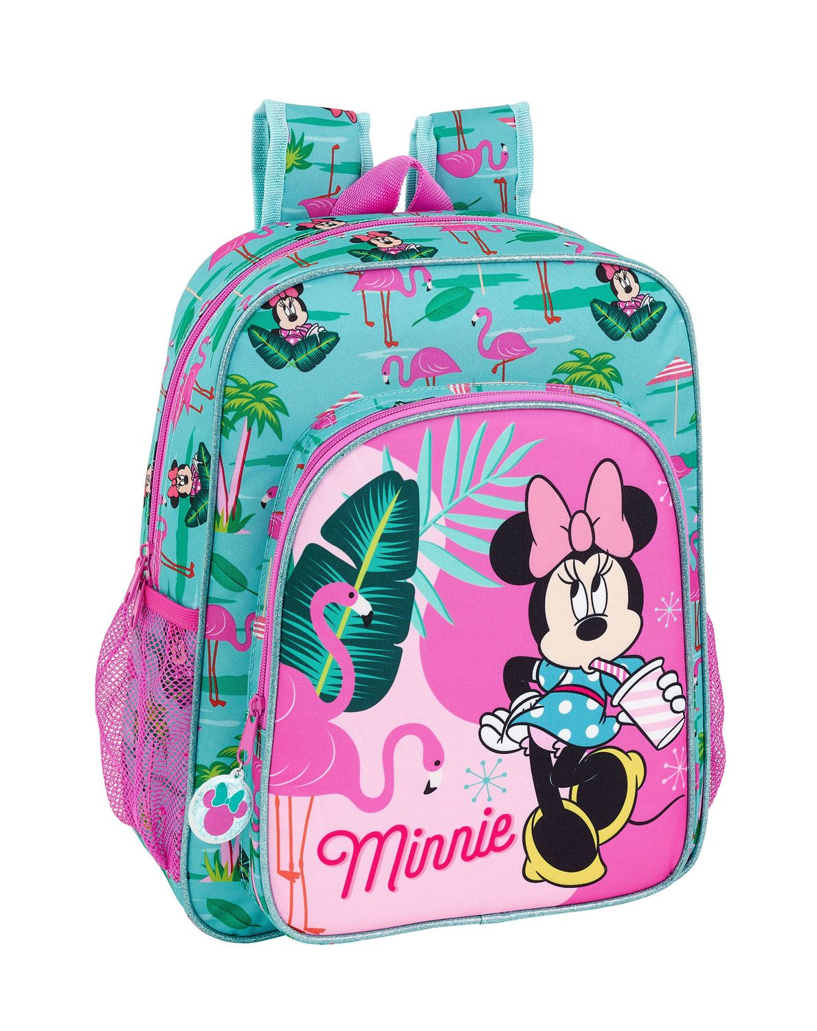 Rucksack Backpack Minnie Mouse Spring Palms 38 cm – image 1