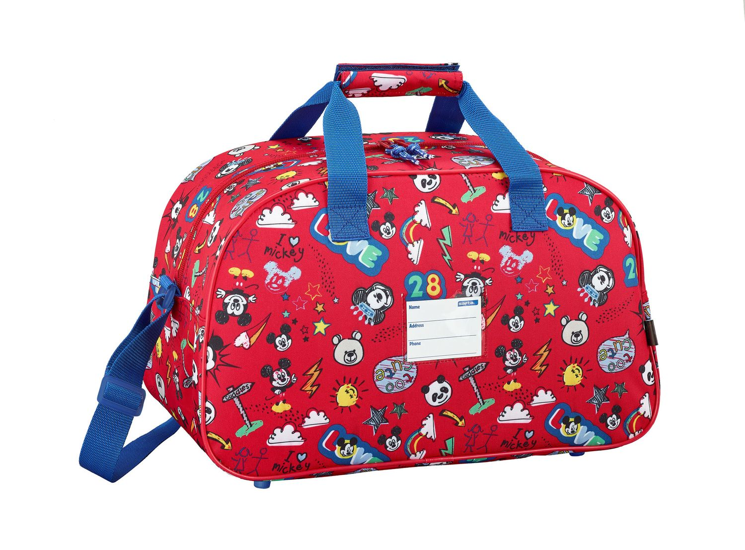 Travel Sports Bag 40 cm Mickey Mouse MAKER – image 2