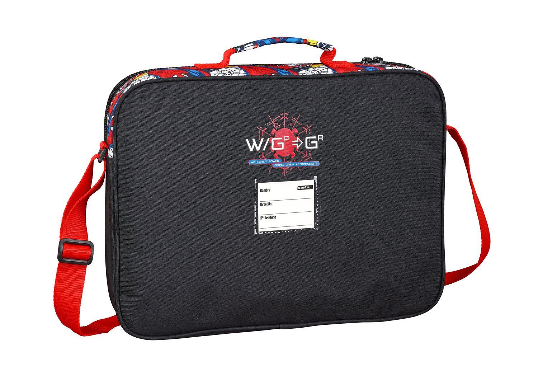 Spiderman SUPER HERO Briefcase Shoulder Bag 38cm – image 2