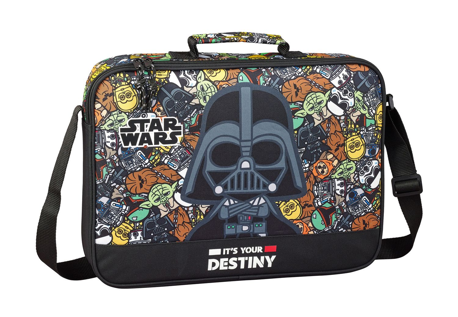Star Wars GALAXY Briefcase Shoulder Bag 38cm – image 1