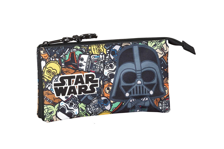 Triple Pencil Case Star Wars GALAXY – image 1