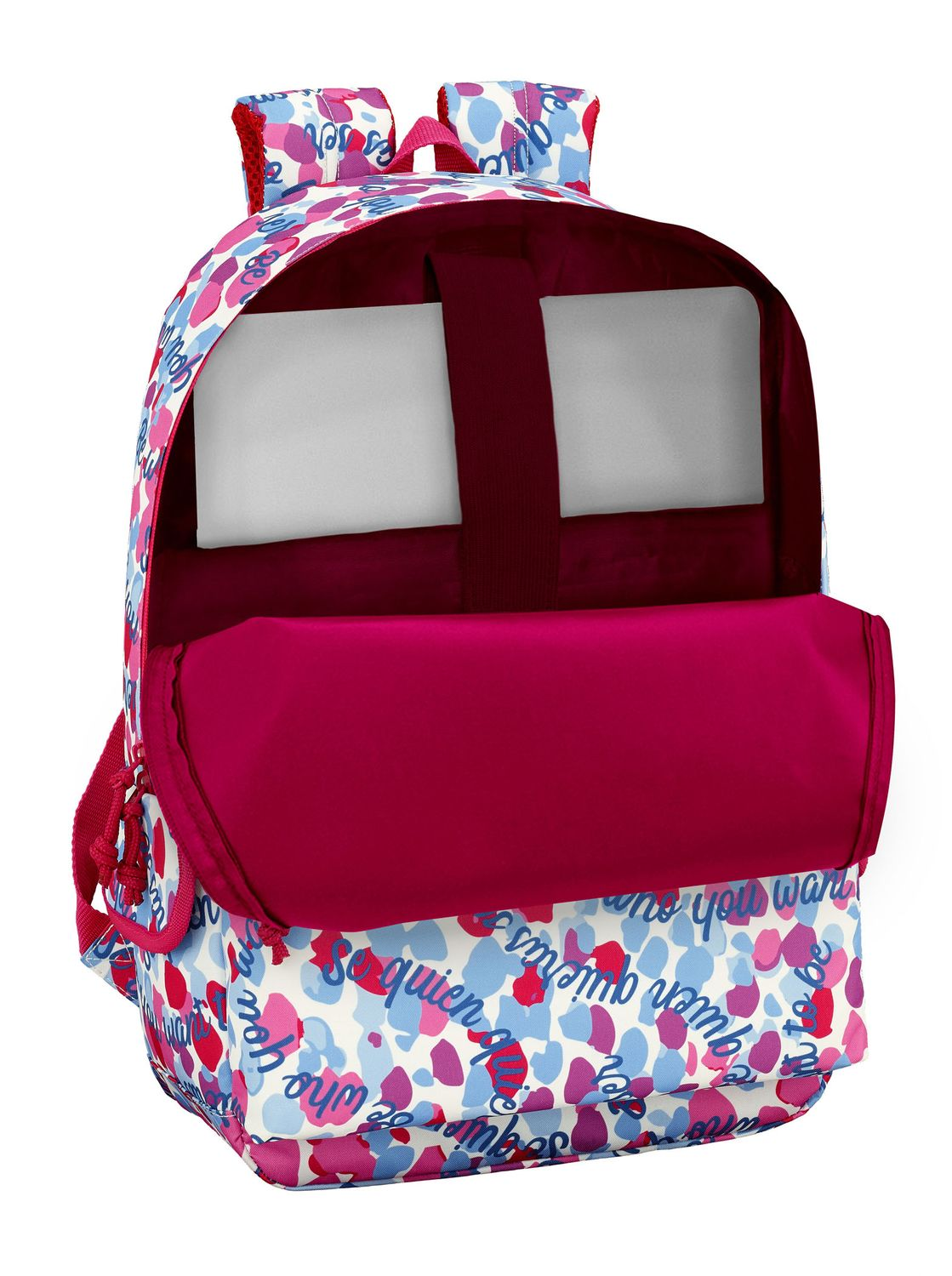 Laptop Backpack 15,6'' 46 cm Vicky Martin Berrocal BE – image 3