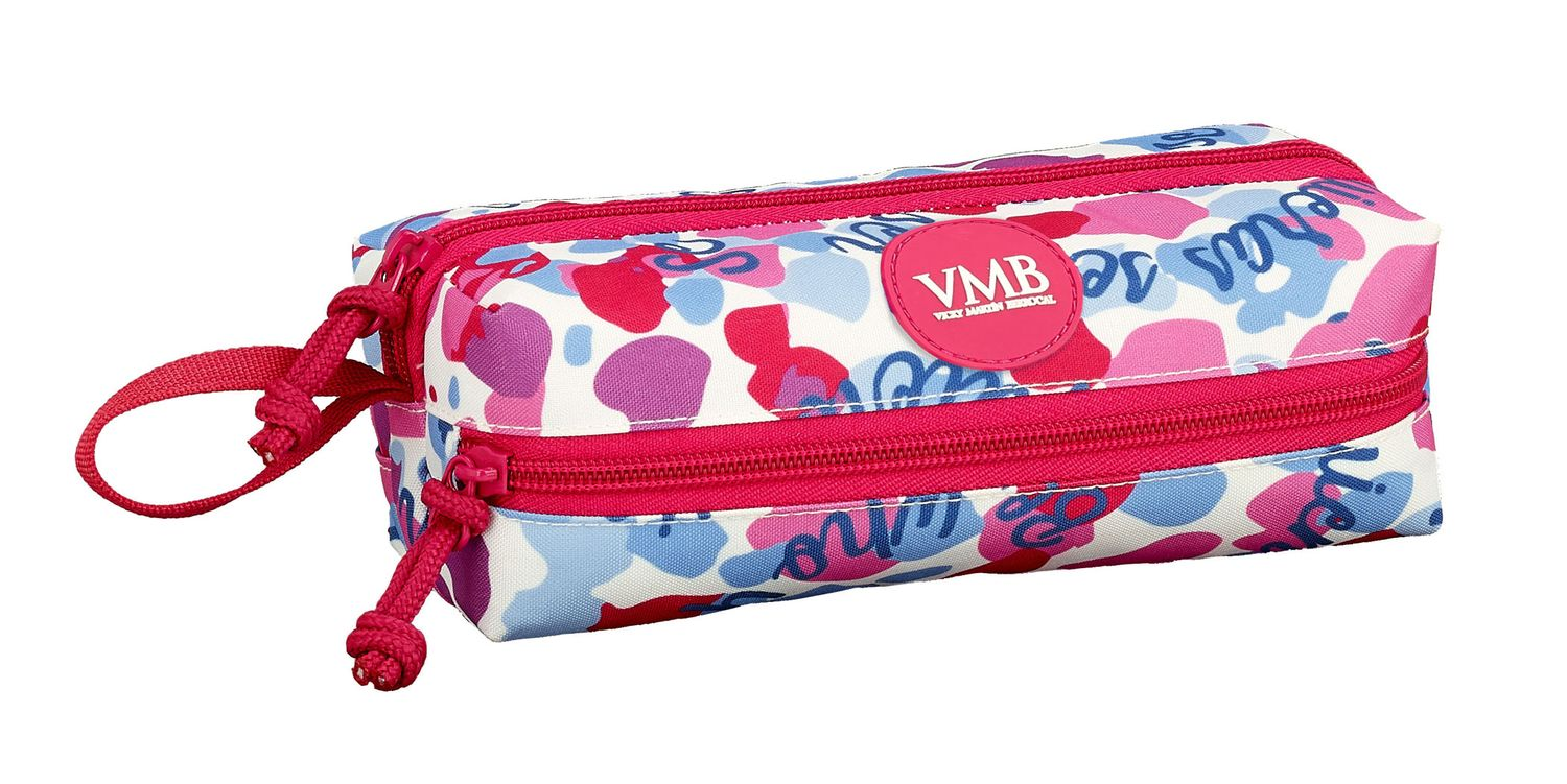 Pencil Case 3 Zip Vicky Martin Berrocal BE – image 1